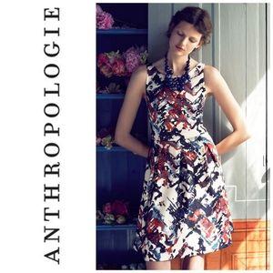 Anthropologie Maeve Sleeveless Capelle Dress